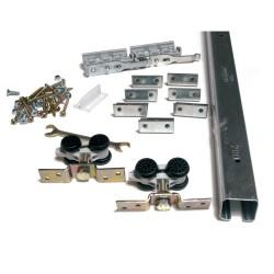 Skjutdörrsbeslag Husky 900 mm H50/18 max 50 kg