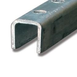 Styrskena stål 3 m 89C/3M