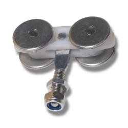 Hängrulle 30 mm bult 56K/S30 för metall