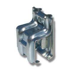 Ändkonsol hö 1/290SH stål för väggmontage