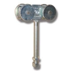 Hängrulle med 140 mm bult 56AX/S för metall till 301